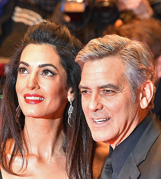 George Clooney, Amal Clooney Can't Allegedly Agree Where They'll Send Their Twins To School George-clooney-and-amal-clooney
